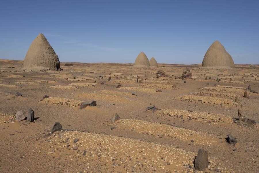 Une nécropole dans le désert