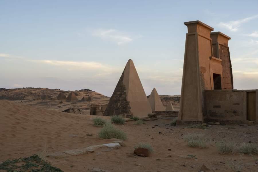 Le cimetière des puissants rois et des reines guerrières de Koush