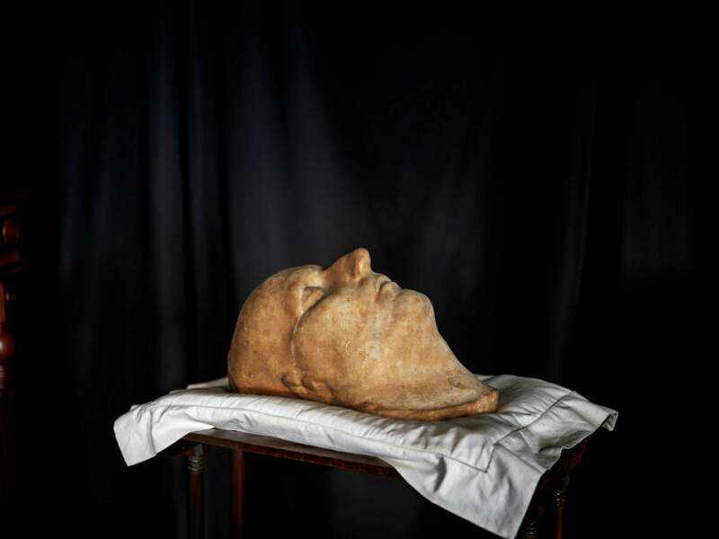 Un saisissant masque mortuaire