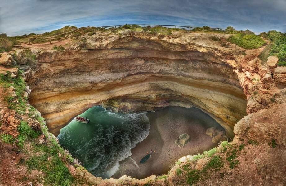 La grotte de Benagil