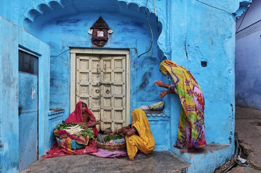 Jodhpur, une ville colorée