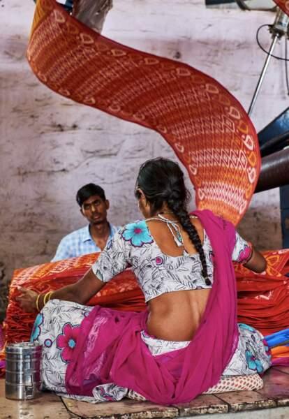 Des saris en fonction des régions et des castes