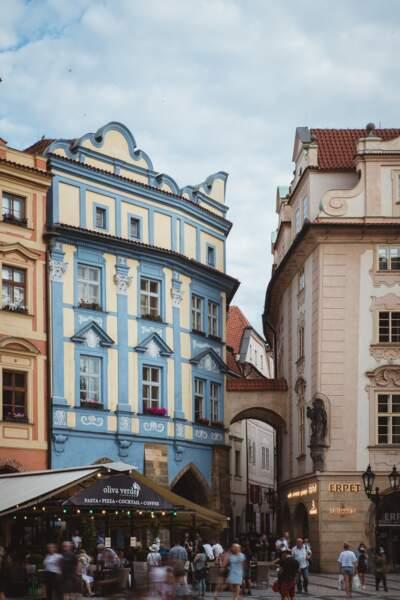 Le marché Havelské tržiště existe depuis le Moyen Age