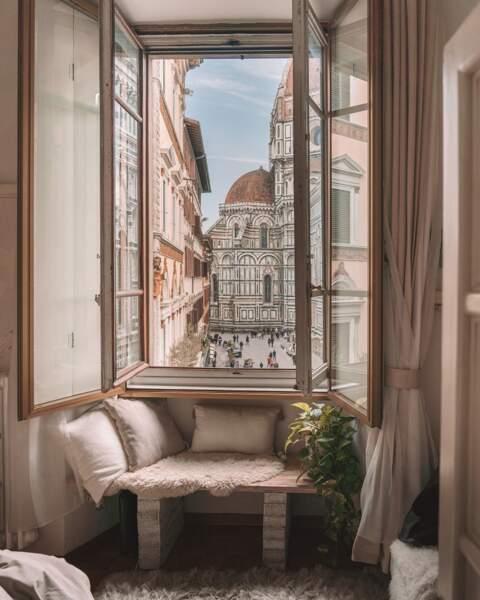 Un atelier d'artiste à Florence
