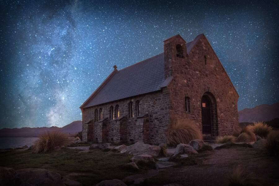 L'Aoraki Mackenzie International Dark Sky Reserve, en Nouvelle-Zélande