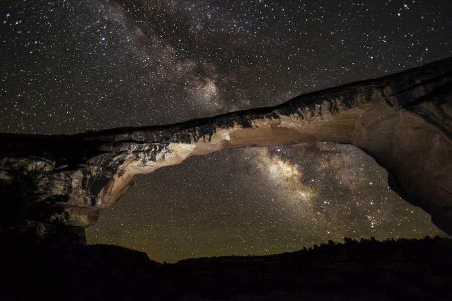Le Natural Bridges National Monument, aux Etats-Unis