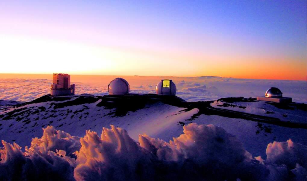 L'observatoire de Mauna Kea, à Hawaï