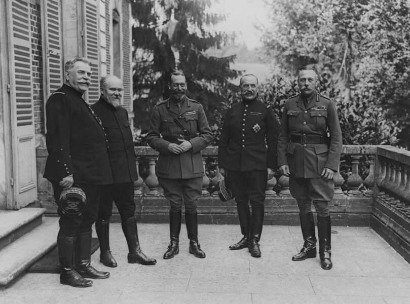 1916 : un monarque parmi les Alliés