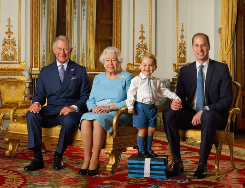 2016 : quatre générations pour un royaume