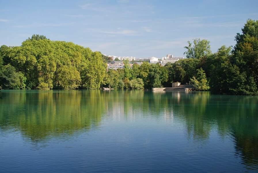Le parc de la Tête d'Or, 6ème arrondissement de Lyon