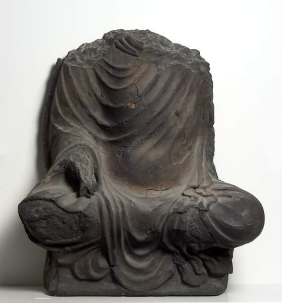 Bouddha assis, 6ème siècle, Afghanistan, Bamiyan