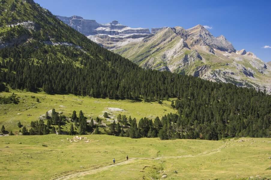 Gèdre dans les Hautes-Pyrénées
