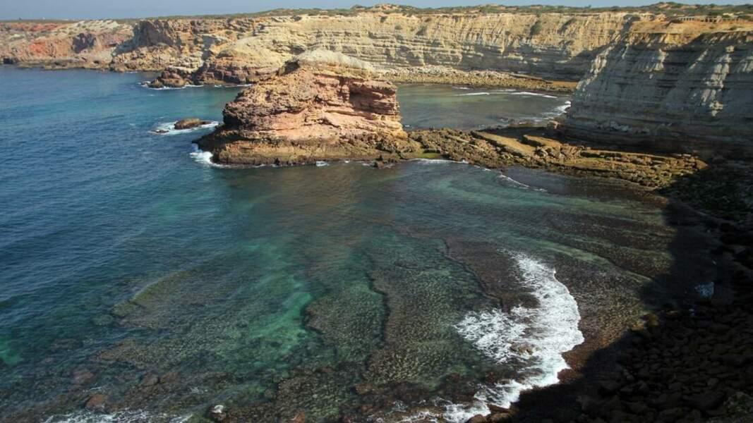 Côte en Algarve