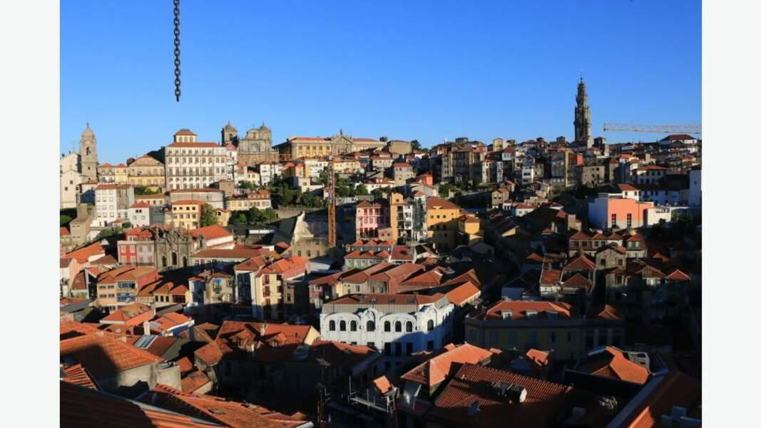 Les toîts de Porto