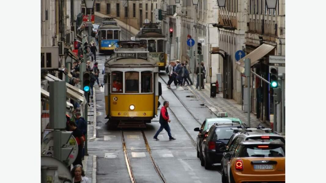 Le célèbre tramway de la capitale portugaise