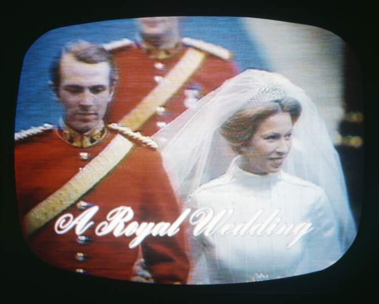Le premier mariage télévisé de la famille royale