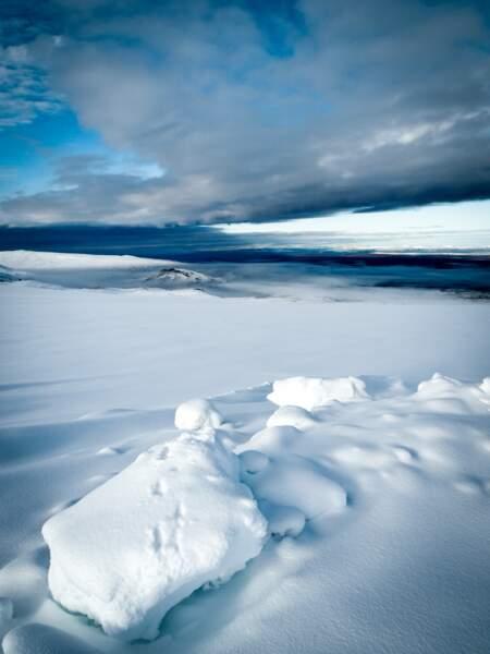 Immensité blanche et solitude