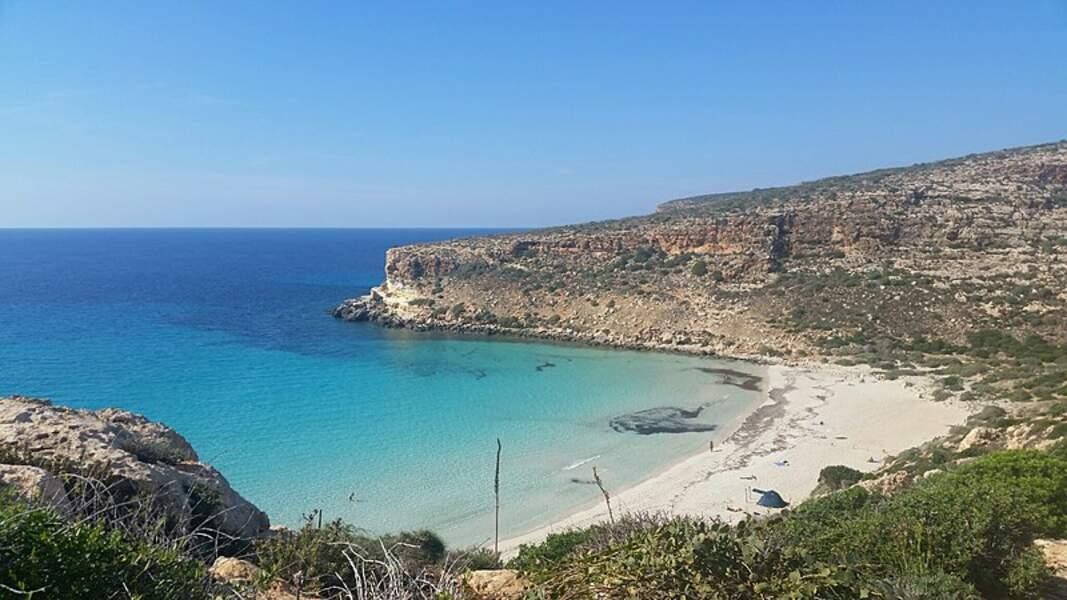 Spiaggia dei Conigli, Lampedusa (Italie)