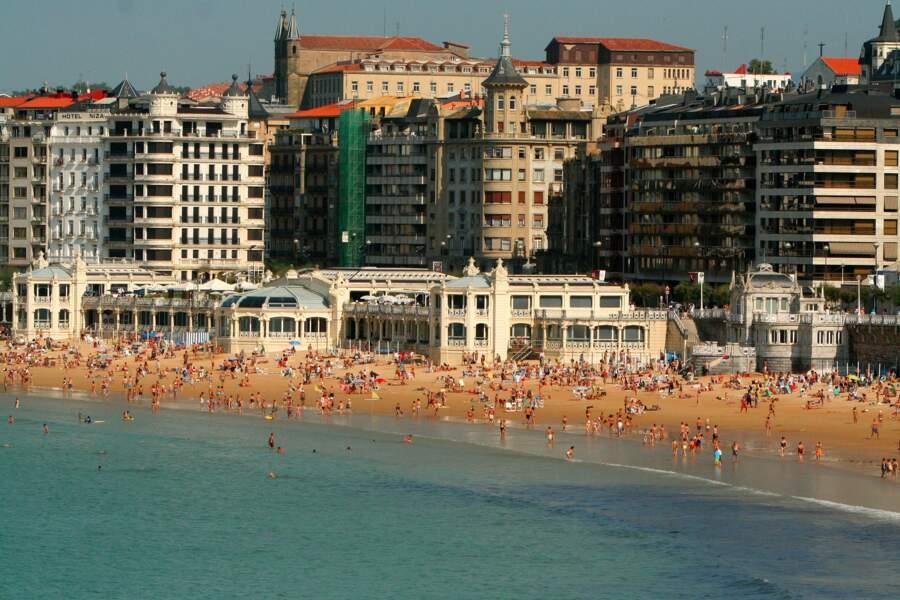 La Concha Beach, Espagne