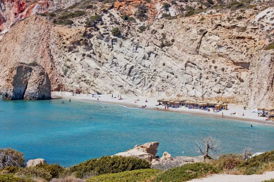 Kleftiko Beach, Milos (Grèce)