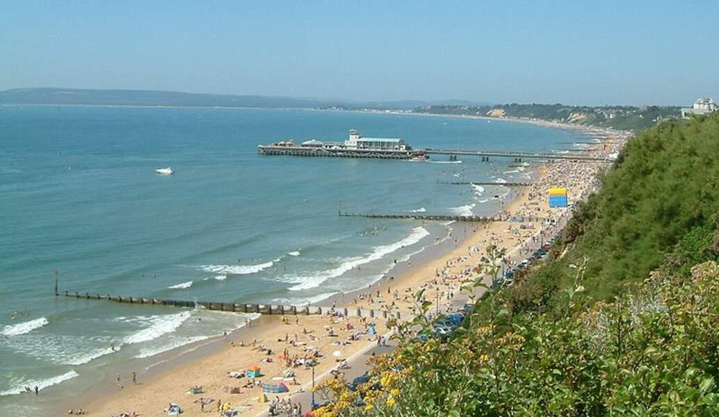 Bournemouth Beach, Angleterre