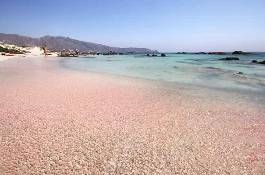 Elafonissi Beach, Crète (Grèce)