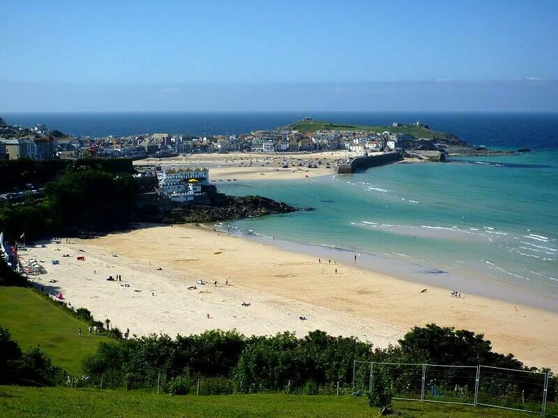 Porthminster Beach, Cornouailles (Angleterre)