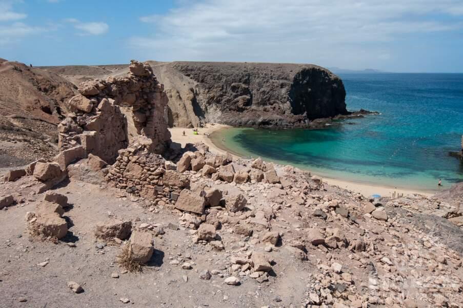 La plage Del Papagayo
