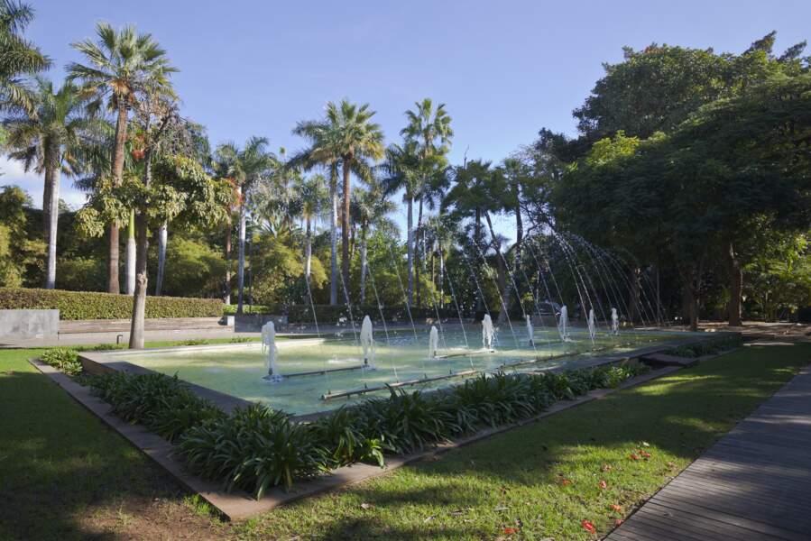 Le parc García Sanabria, à Santa Cruz