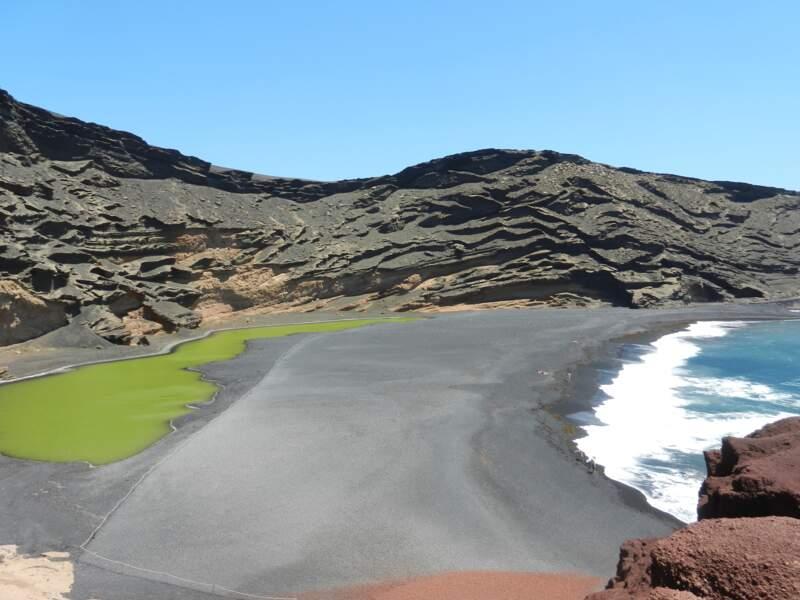 La lagune verte, à El Golfo