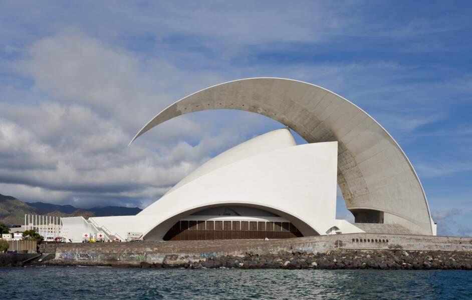 L'Auditorio de Tenerife, à Santa Cruz