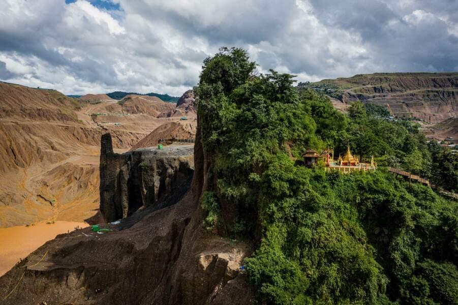 Trites mines en Birmanie