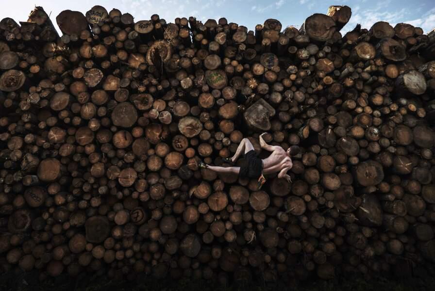 En Bavière, en pleine pandémie, un aventureux grimpeur des bois