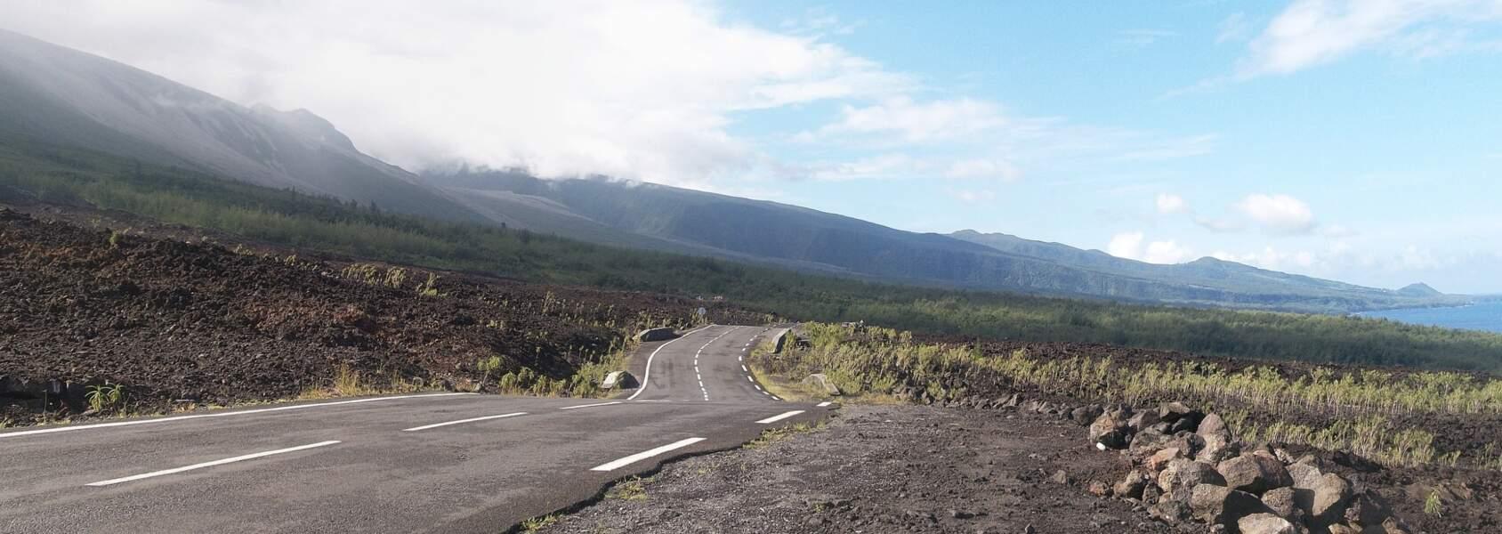 Un paysage forgé par le volcan