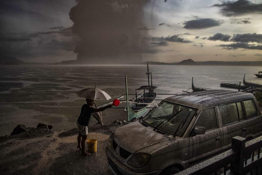 12 janvier 2020 : quand le volcan Taal entrait en éruption aux Philippines