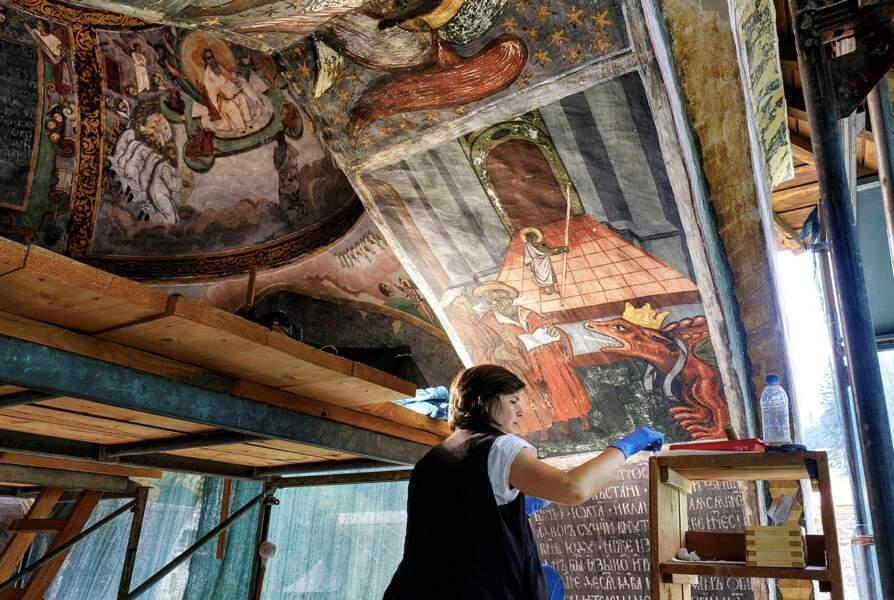 Des fresques quatre fois centenaires
