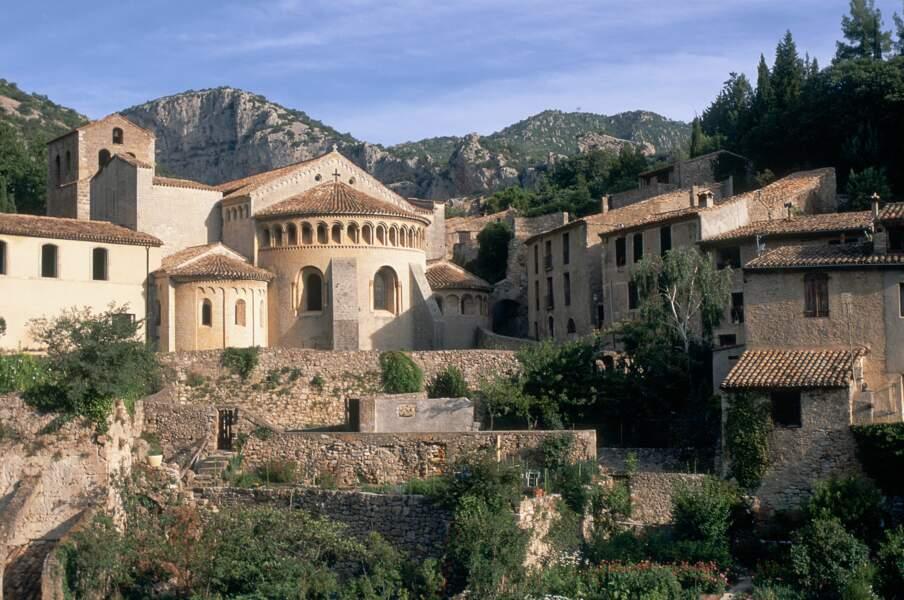 14e - Saint-Guilhem-le-Désert dans l'Hérault