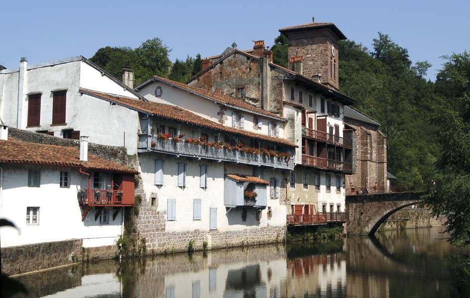 13e - Saint-Jean-Pied-de-Port dans le pays basque