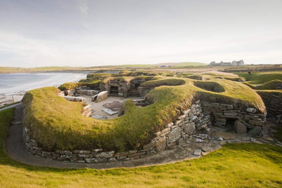Orcades, des fouilles contre vent et marées