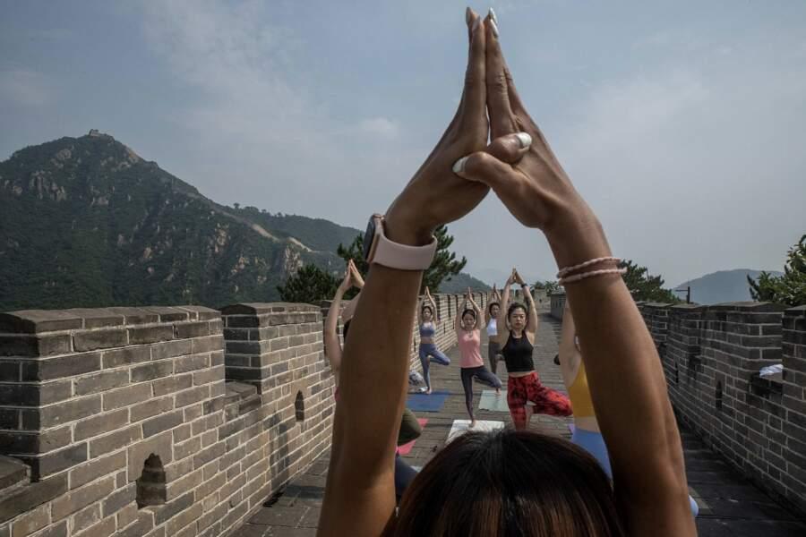 Yoga en plein air...