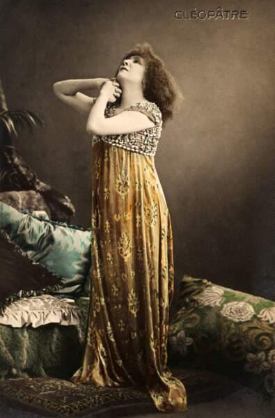 De Sarah Bernhardt à Elizabeth Taylor, celles qui ont incarnée Cléopâtre