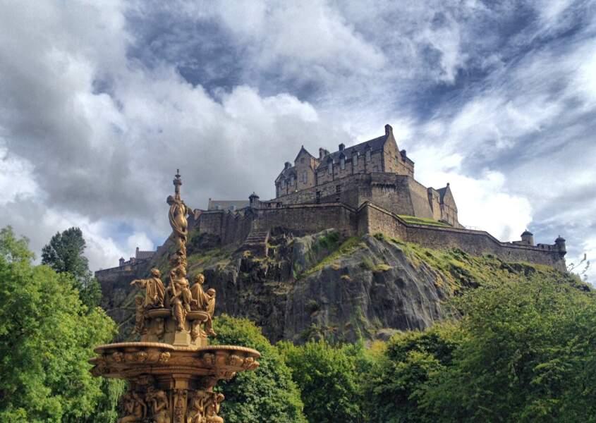 2 - Le château d'Edimbourg