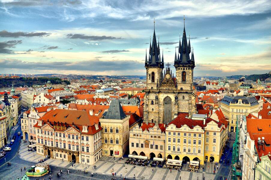 1 - Le château de Prague