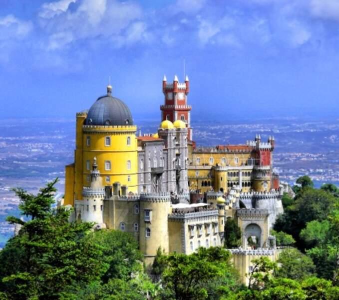 5 - Le palais national de Pena à Sintra