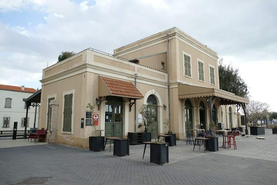 La Old Jaffa Railway station