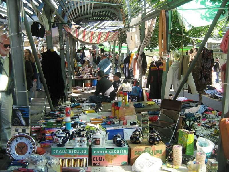 Le marché aux puces de Jaffa