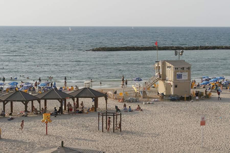 La plage de Jérusalem