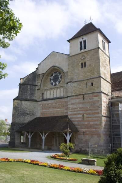 Les vestiges de l'abbaye Saint-Jean de Sorde-l'Abbaye