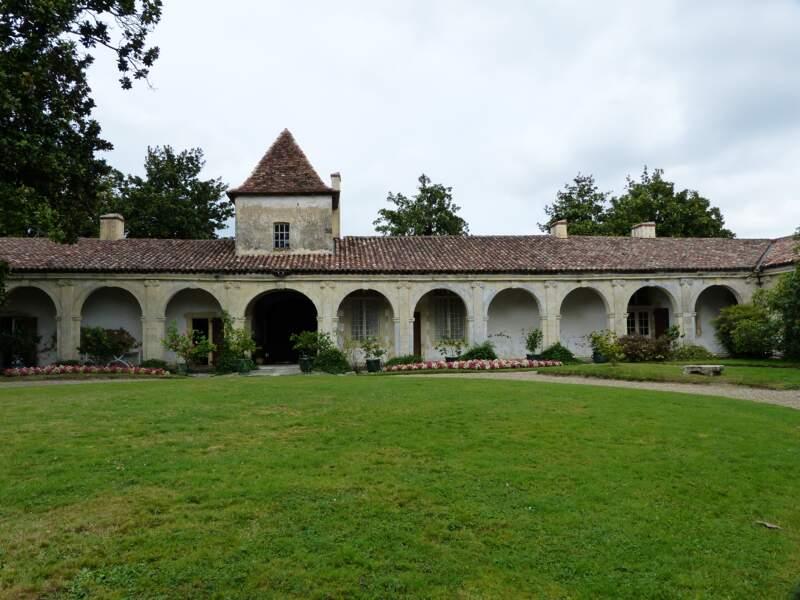 Le château de Gaujacq