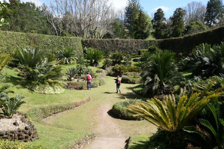 Le parc botanique Terra Nostra